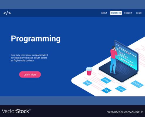 برنامه نویسی قالب