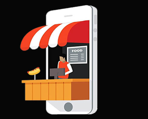 طراحی اپ سفارش آنلاین غذا